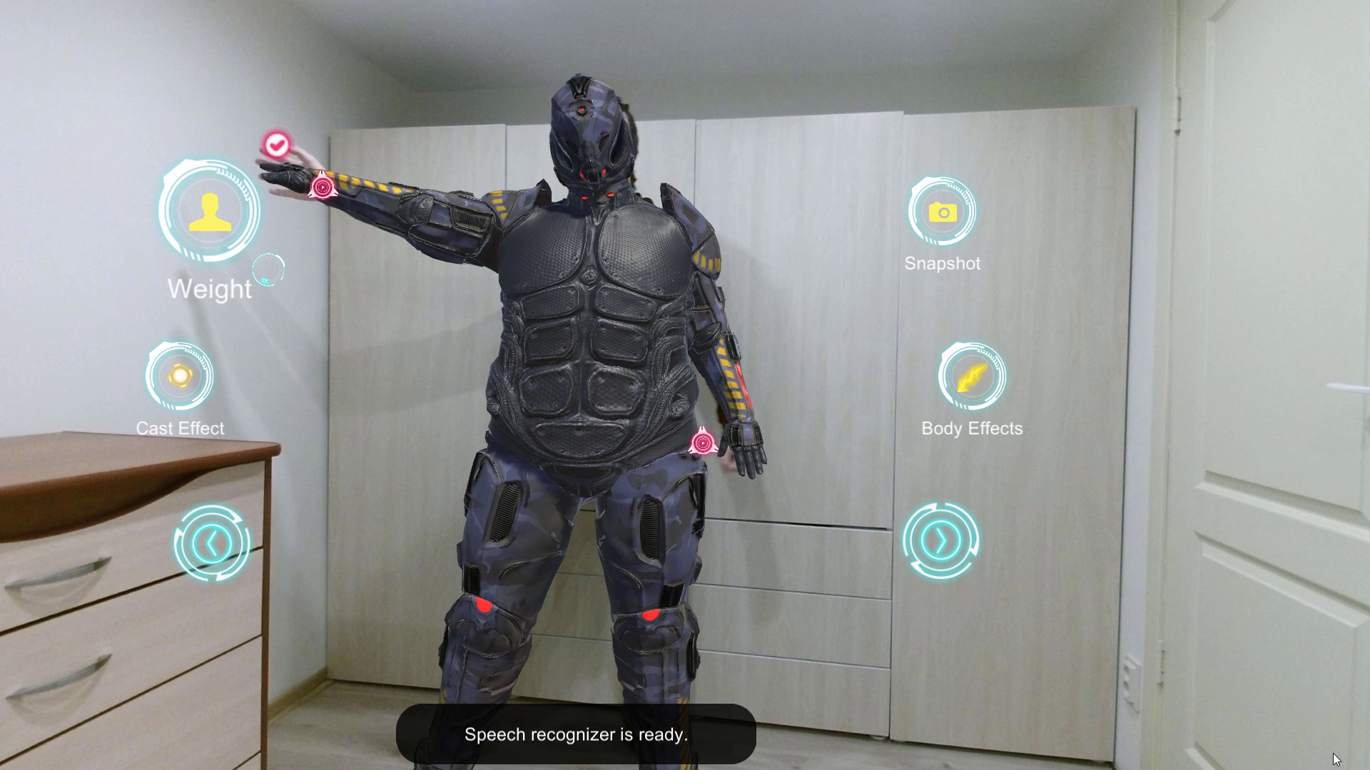 Paparmali 4 - AR Superhero Outfit - Kinect Body Tracking